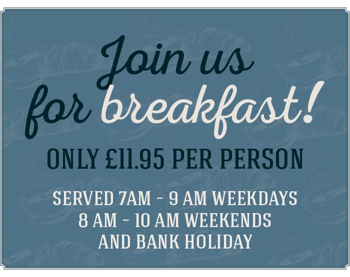 Join us for breakfast at The Littleton Arms