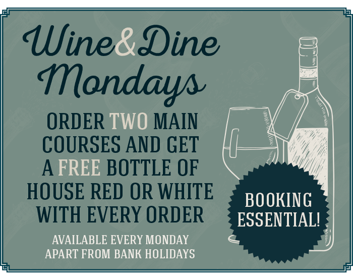 Wine and Dine Mondays at The Littleton Arms