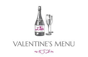 The Littleton Arms Valentine's Menu
