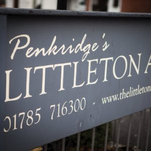 The Littleton Arms in Penkridge, Staffordshire is getting a facelift!