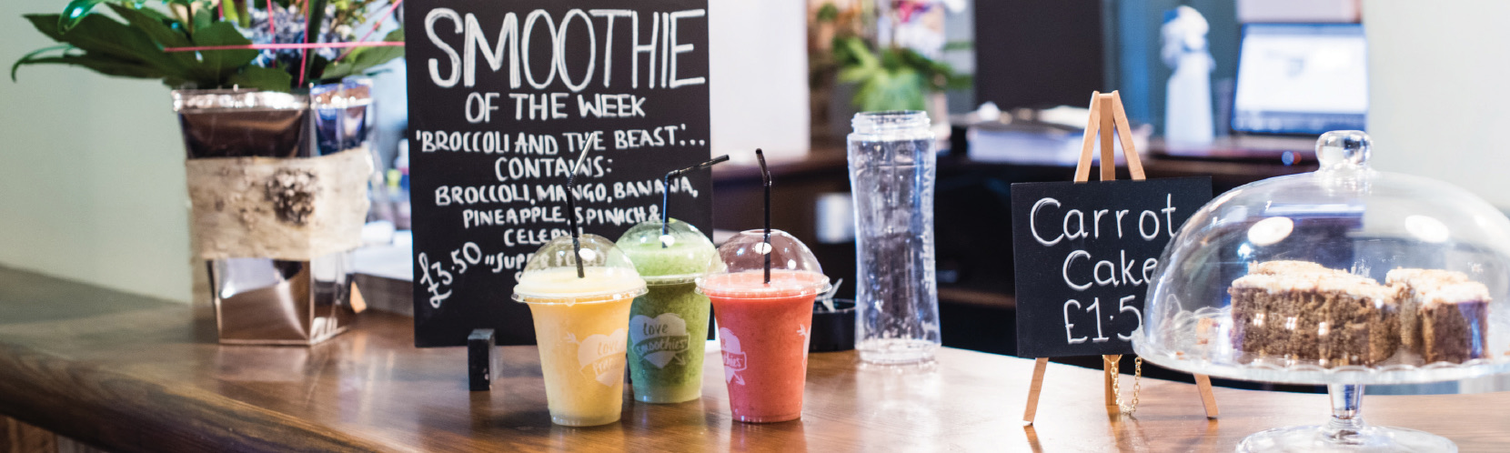 Smoothies at The Littleton Arms