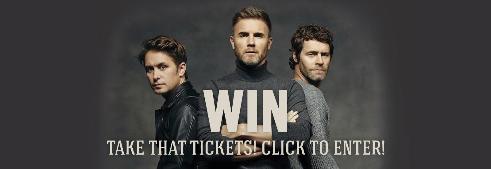 WIN an all expenses paid trip to see Take That in June!