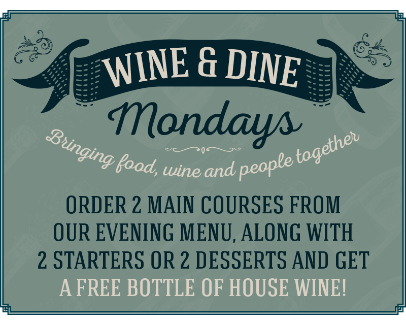 Order 2 main courses