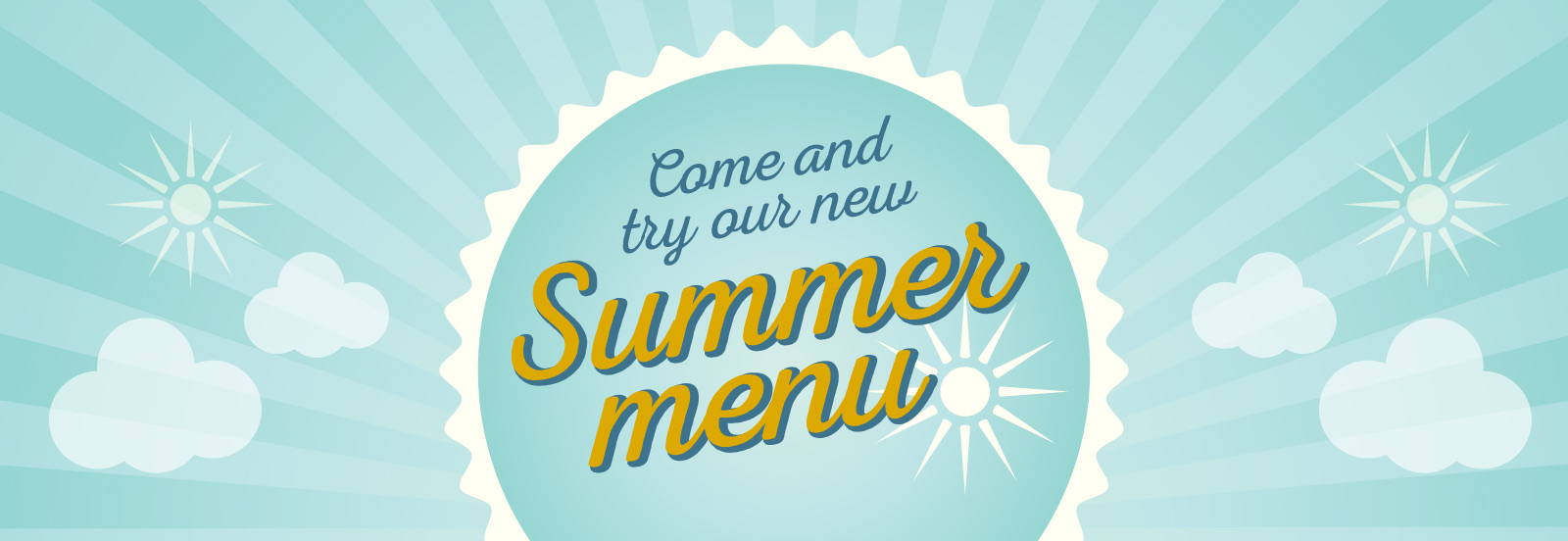 Come and try our new summer menu at The Littleton Arms