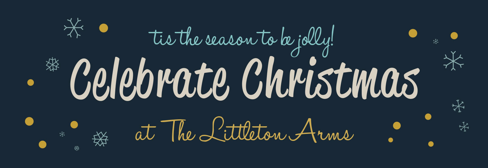 Celebrate Christmas at The Littleton Arms