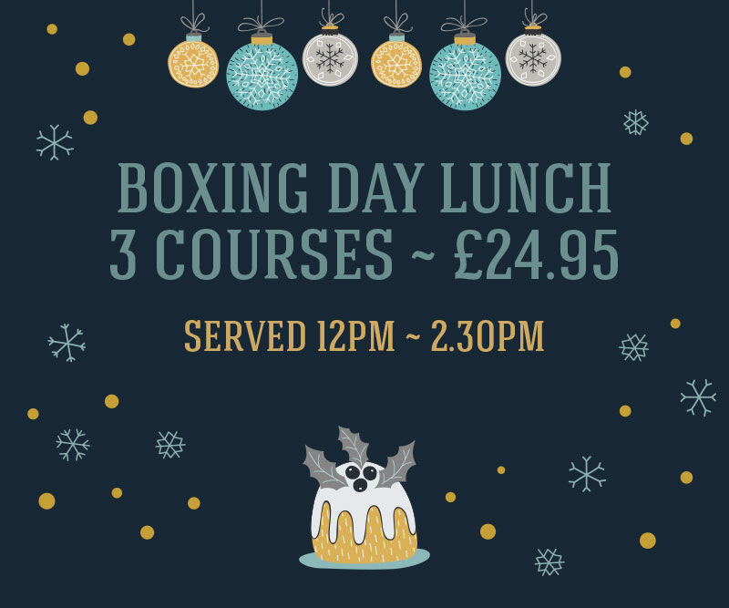 The Littleton Arms boxing day lunch 3 courses ~ £24.95