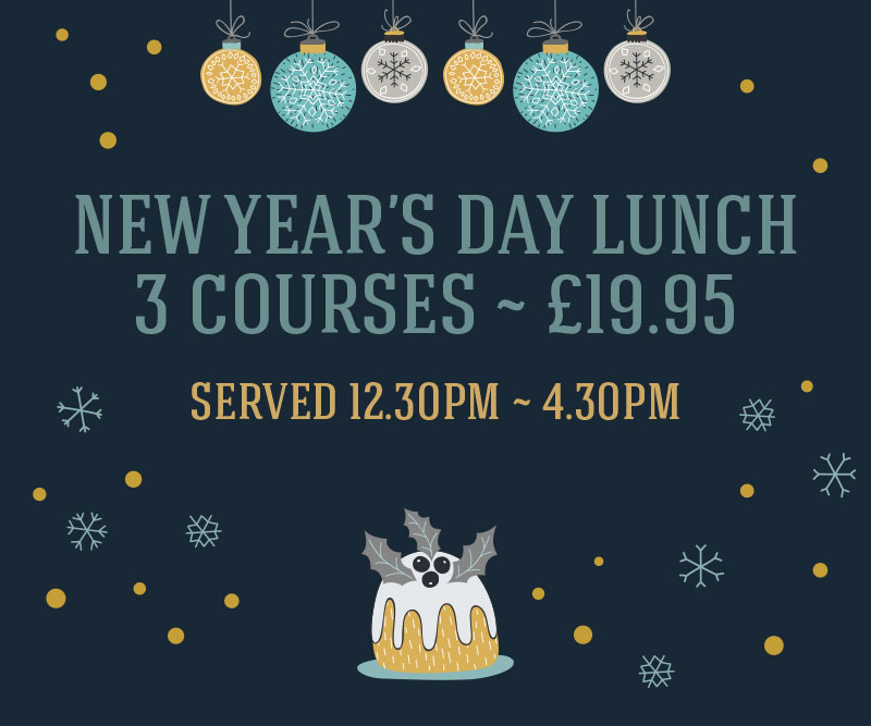 The Littleton Arms New Year's Day Lunch, 3 courses ~ £19.95