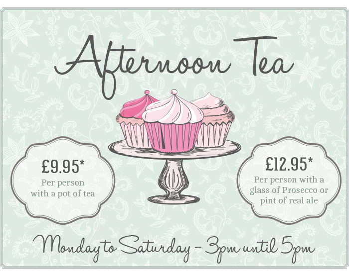 Afternoon Tea at The Littleton Arms
