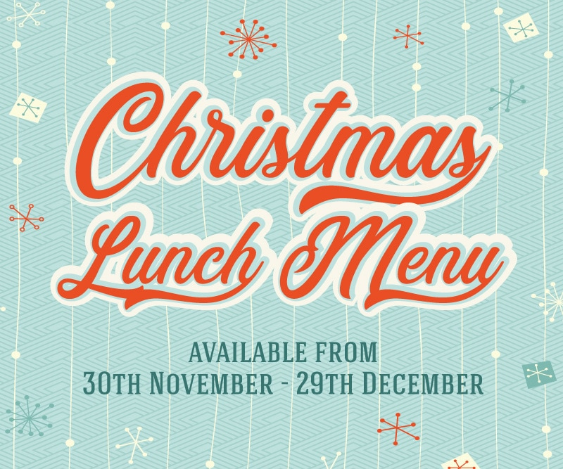 The Littleton Arms Christmas Lunch Menu